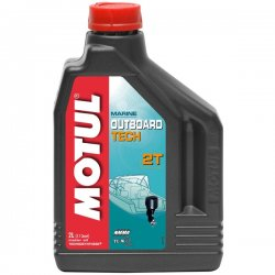 Масло Motul Outboard Tech 2T 2 литра
