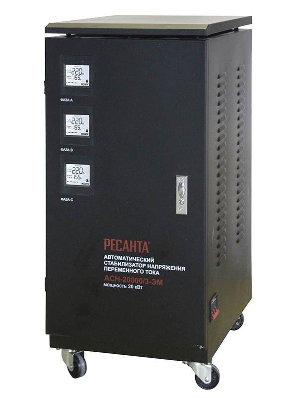 Стабилизатор трехфазный РЕСАНТА АСН-20000/3 купить в Екатеринбурге
